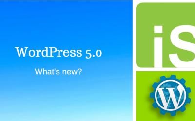 WordPress 5.0 UPDATE!